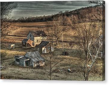 The Farmer In The Dell Canvas Print