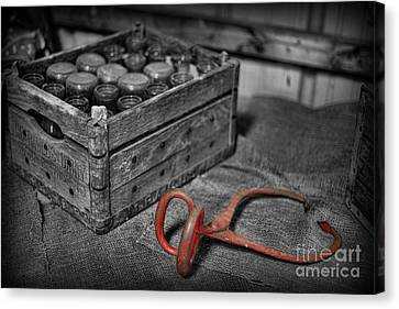 The Farmer's Milk Crate  Canvas Print by Lee Dos Santos