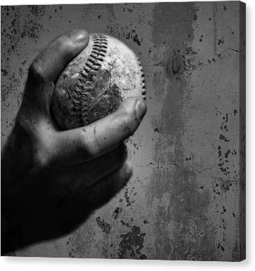 The Fastball Canvas Print