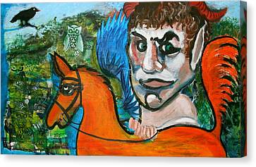 The Faun Canvas Print by Dan Koon