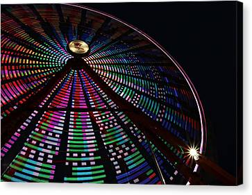 The Ferris Wheel Canvas Print by Jp Grace