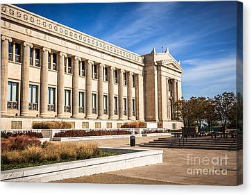 The Field Museum In Chicago Canvas Print by Paul Velgos