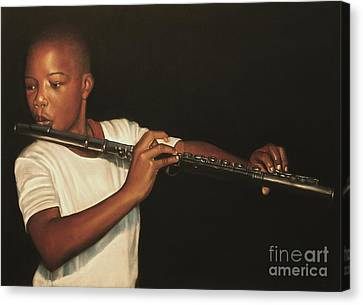 The Fifer I Canvas Print by Curtis James