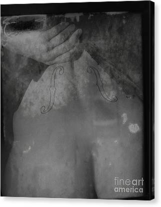 The Figure Of Classical Sound Canvas Print by Jacob Smith