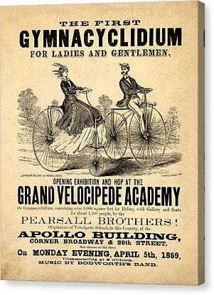 The First Gymnacyclidium Canvas Print by Bill Cannon