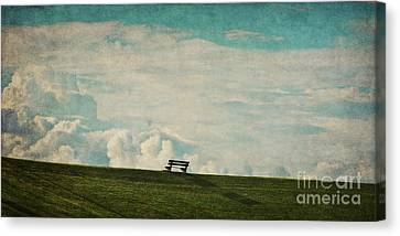 The First Place To Heaven Canvas Print by Angela Doelling AD DESIGN Photo and PhotoArt