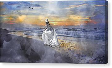 The First Sunrise Canvas Print by Betsy Knapp