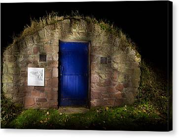 The Fish House At Paxton House Scotland Canvas Print by Niall McWilliam