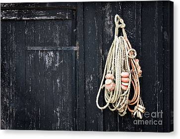 The Fisherman's House Canvas Print by Delphimages Photo Creations