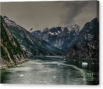 The Fjord Canvas Print by Steven Parker