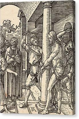 The Flagellation Canvas Print by Albrecht Durer