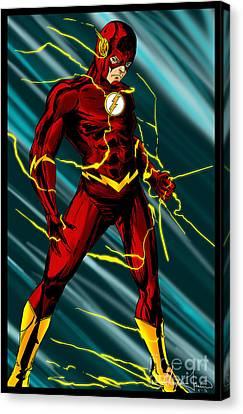 The Flash Canvas Print by Alexiss Jaimes