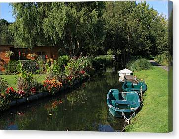 The Floating Gardens Canvas Print