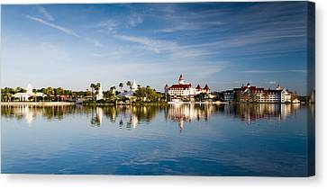 The Floridian Resort  Canvas Print