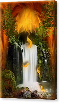 The Flower Of Joy - Fantasy Art By Giada Rossi Canvas Print