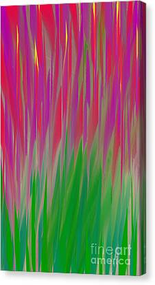 The  Flowers Of The Field - Abstract - Floral Canvas Print by Andee Design