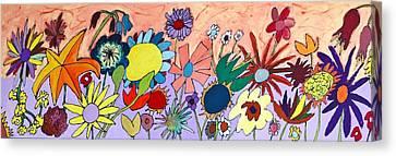 The Flowers Ran Away Canvas Print