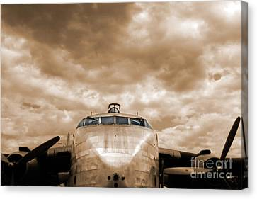The Flying Boxcar  Canvas Print