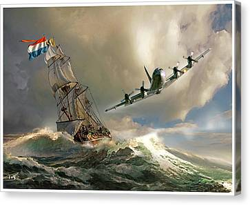 The Flying Dutchman Canvas Print by Peter Van Stigt