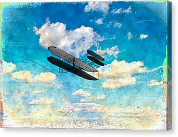 The Flying Machine Canvas Print by Bill Cannon