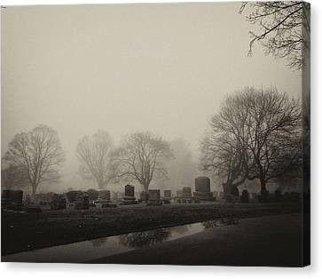The Fog Canvas Print