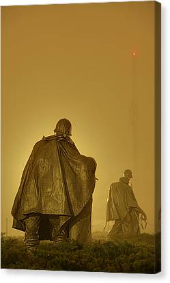 Veterans Canvas Print - The Fog Of War #2 by Metro DC Photography