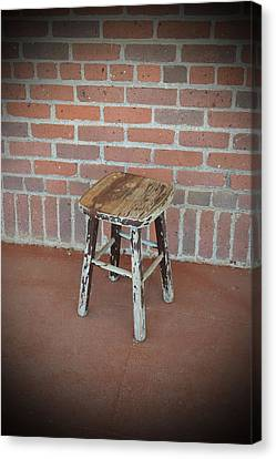 The Foot Stool Canvas Print