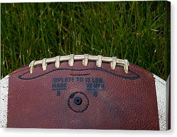 The Football II Canvas Print by David Patterson
