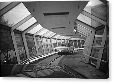 the Ford Rotunda Highway Canvas Print by John Schneider