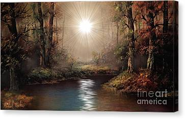 Sunrise Forest  Canvas Print