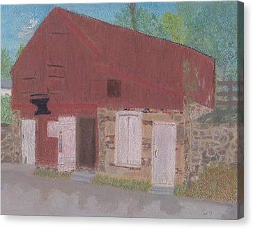 The Forge Waterford Va Canvas Print