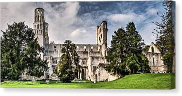 The Forgotten Abbey 2 Canvas Print by Weston Westmoreland