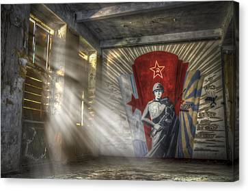 The Forgotten Soldier Canvas Print by Nathan Wright