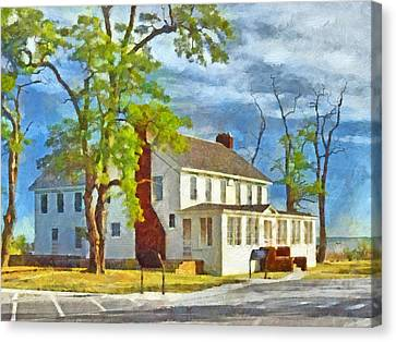 The Former Sleeping Bear Inn / Glen Haven Michigan Canvas Print