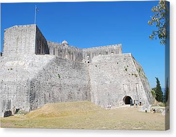 Canvas Print featuring the photograph The Fort Never Fell by George Katechis