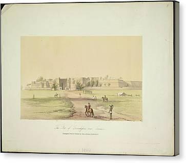 The Fort Of Govindghur Canvas Print