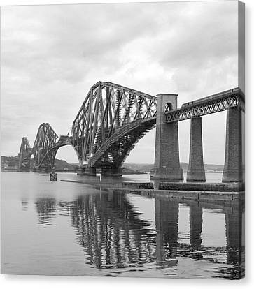 The Forth II Canvas Print by Mike McGlothlen