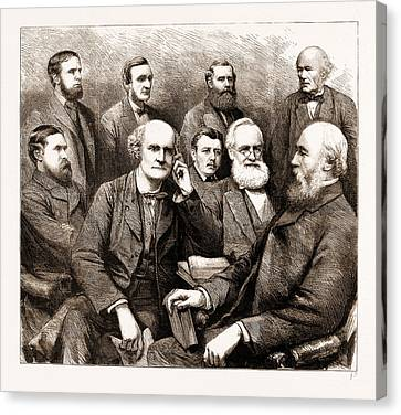 The Forthcoming Meeting Of The British Association, 1883 Canvas Print by Litz Collection