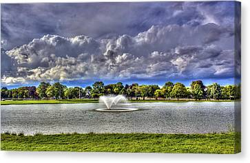The Fountain Canvas Print by Tim Buisman
