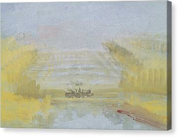 The Fountains At Versailles Canvas Print by Joseph Mallord William Turner