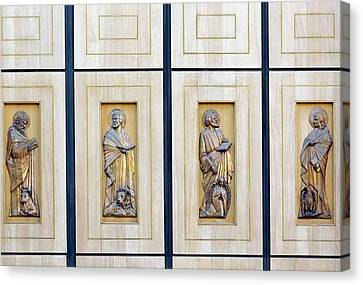 Saint Luke The Evangelist Canvas Print - The Four Evangelists by Ken Welsh