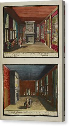 The French Ambassadors' Rooms Canvas Print by British Library
