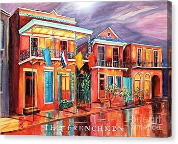 The Frenchmen Hotel New Orleans Canvas Print by Diane Millsap