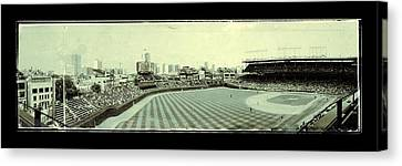 The Friendly Confines Canvas Print