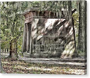 The Fripp Crypt Canvas Print by Patricia Greer