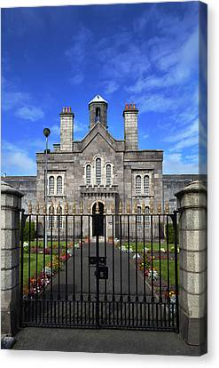 The Front Facade Of Arbour Hill Canvas Print by Panoramic Images