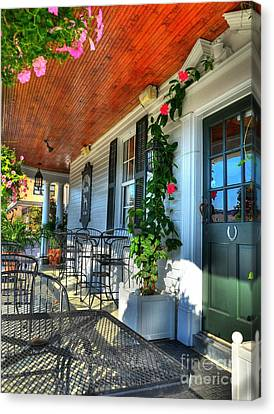 The Front Porch 2 Canvas Print by Mel Steinhauer