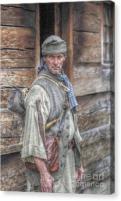 The Frontiersman Canvas Print by Randy Steele