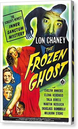 The Frozen Ghost Canvas Print by Studio Artist