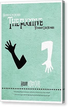 The Fugitive Canvas Print by Ayse Deniz